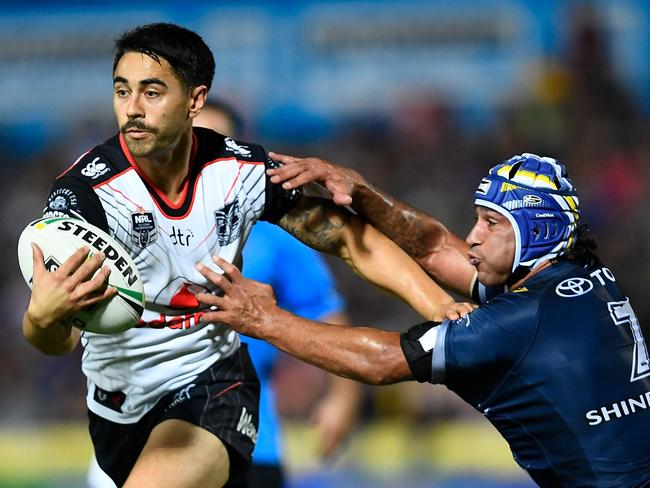 A rested Shaun Johnson could savage the Sharks. Picture: Getty Images