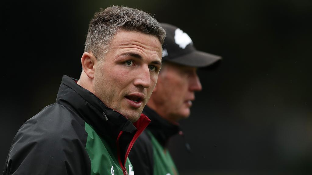 Sam Burgess could make a comeback. (Photo by Mark Metcalfe/Getty Images)