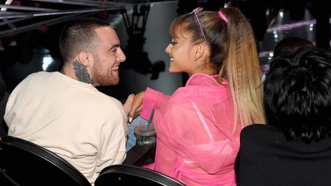 Ariana had the kindest words for late ex Mac Miller. Picture: Kevin Mazur/WireImage Source: Getty