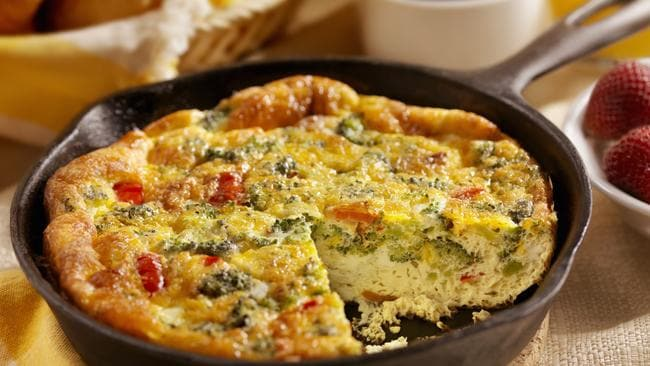 Cheese and Broccoli Frittata. Picture: iStock