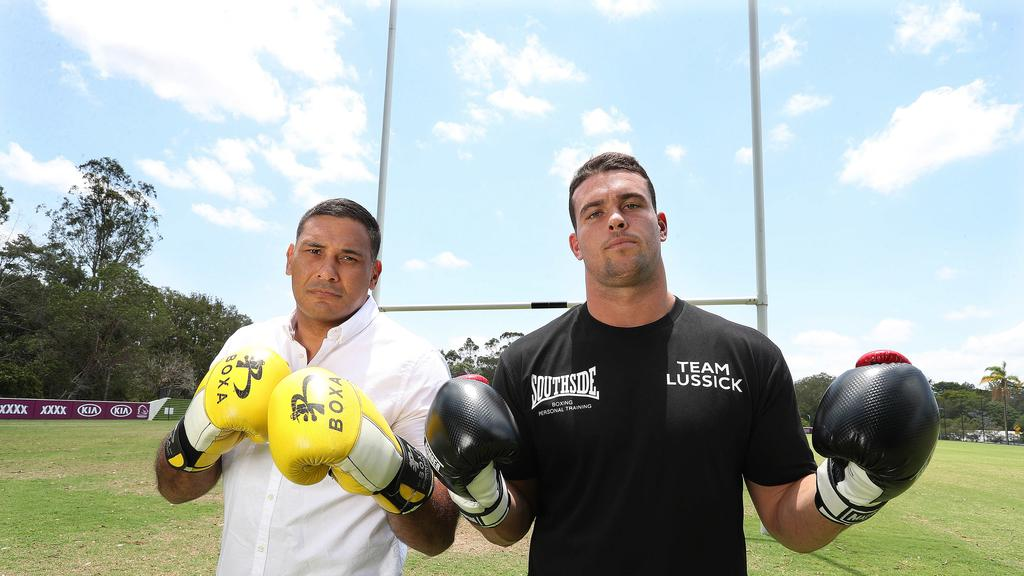 Ex-Sea Eagle Darcy Lussick ready to KO Justin Hodges in ...