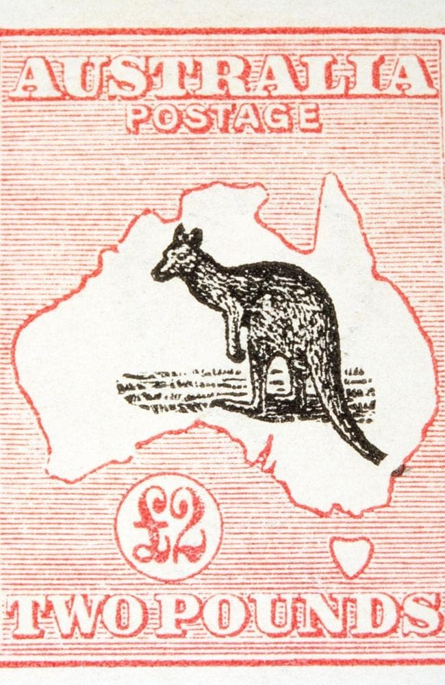 Australia's first Commonwealth postage stamp.