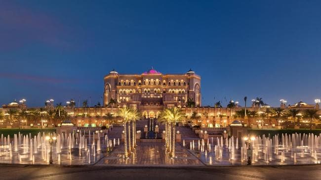 Abu Dhabi: Emirates Palace, a seven-star hotel, is a lot