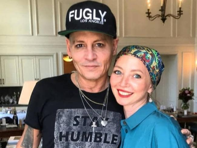 Sources close to Johnny Depp insist the actor is healthy. Picture: Instagram