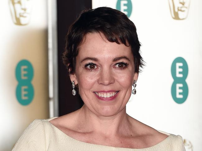 Olivia Colman is a favourite for this year's Oscars. Picture: Getty Images