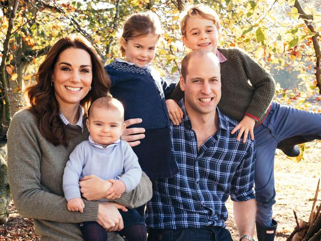 This gorgeous family picture of the Cambridges was taken at Anmer Hall.