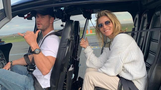 Chris Hemsworth and Elsa Pataky seemingly have a perfect relationship.
