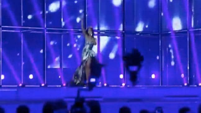 VIDEO Jessica Mauboy performs at Eurovision