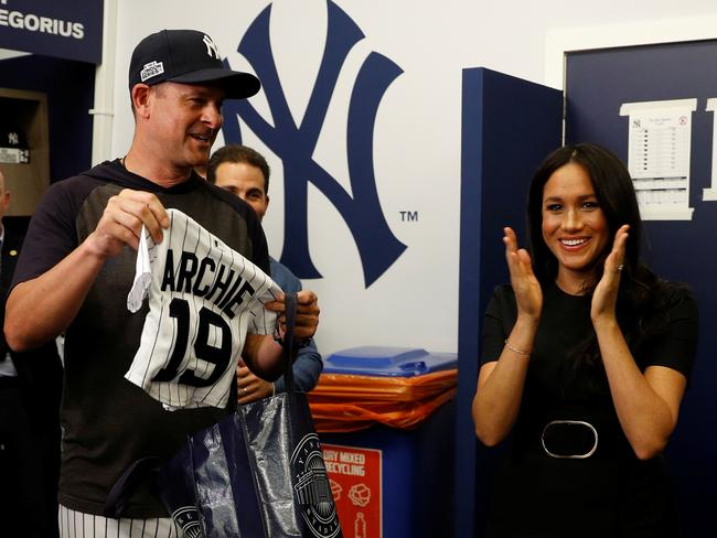 Archie is set to be a Yankee fan.