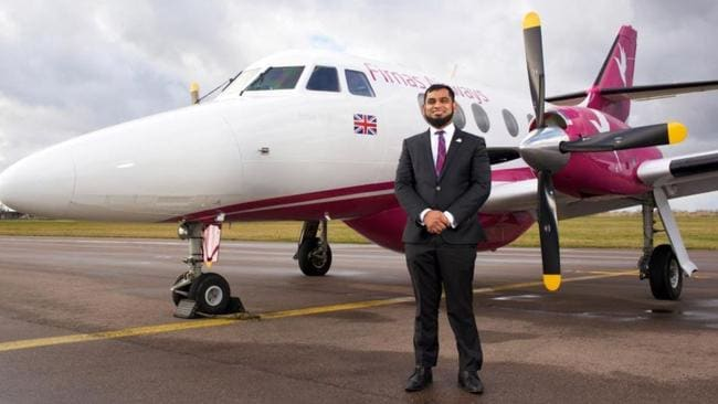 Kazi Shafiqur Rahman is working to get his airline Firnas Airways off the ground. Picture: Channel 4