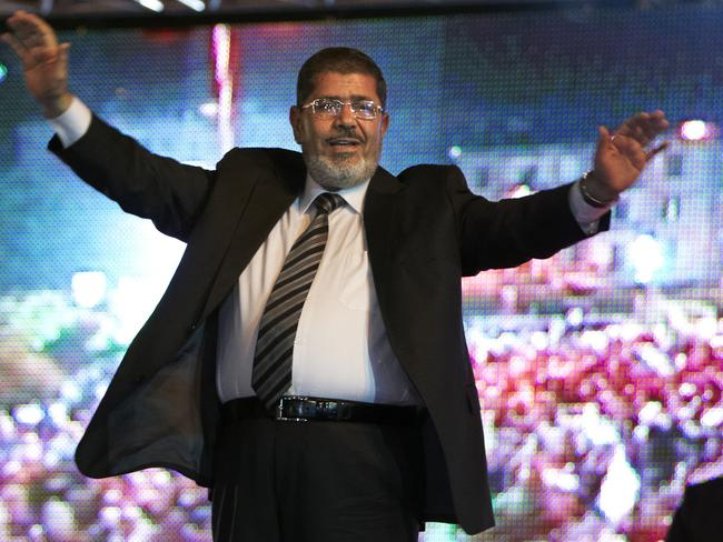 Morsi, 67, collapsed during a court session and died. It said it occurred while he was attending a court trial on Monday on espionage charges. Picture: Fredrik Persson