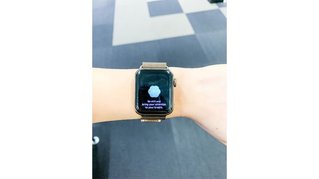 Apple Watch Breathe App. Juna Xu.