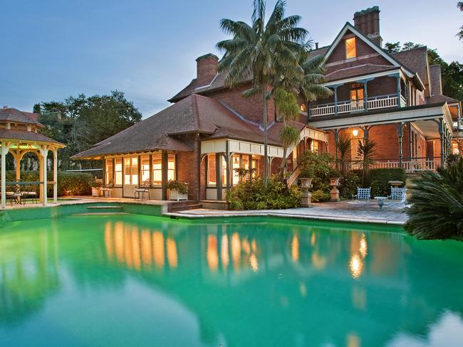 The property, known as 'Leura,' located in Bellevue Hill is listed for more than $30 million.