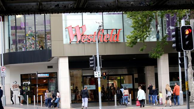 The man spent several hours at Westfield Parramatta over the week. Picture: Supplied