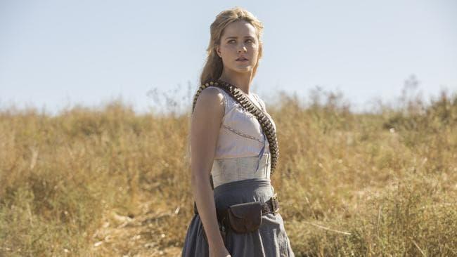 Evan Rachel Wood in season 2 of Westworld. Picture: Foxtel