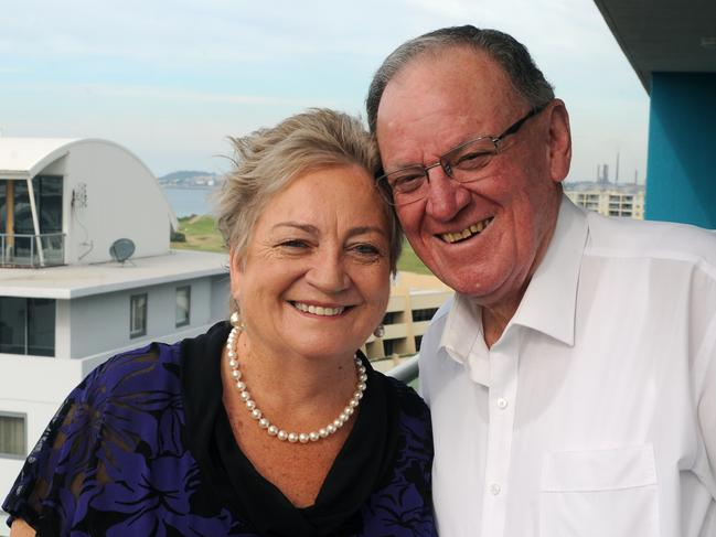 Peter and Judy Newell will holiday in New York to kickstart Mr Newell's retirement.