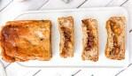 A vegan sticky date peanut butter banana bread recipe. Image: Supplied. Rebecca Gawthorne.