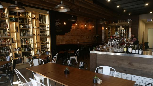 The Tasing Room at East End Cellars in Ebenezer Place in the city. Picture: Calum Robertson