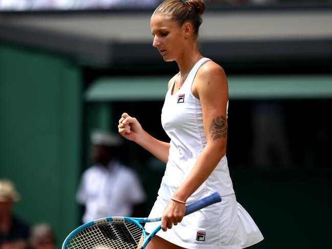 Karolina Pliskova at The Championships.