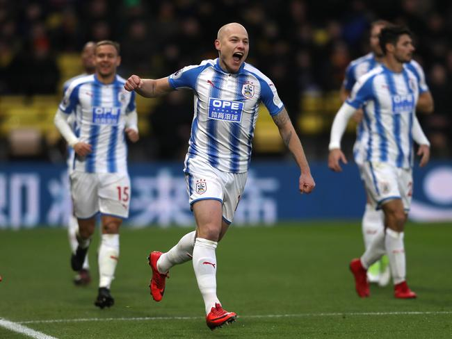 Aaron Mooy has four goals for Huddersfield in the PL.