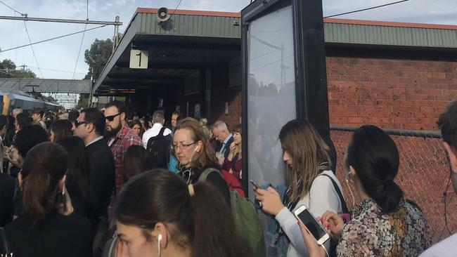 Melbourne train delays: Man behind North Melbourne shutdown
