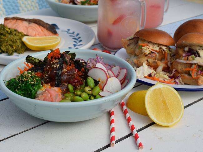 Some of the delicious food on offer at Watsons Bay Hotel Beach Club. Picture: Jenifer Jagielski