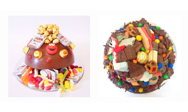 What happens when you cross a CAKE with a PINATA?