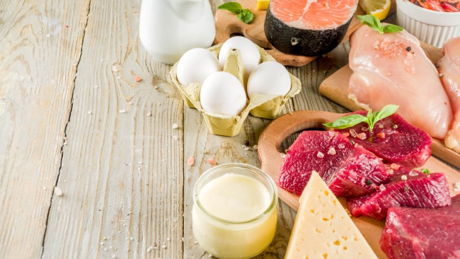 Meat, fish, eggs and dairy are great sources of B12. Image: iStock