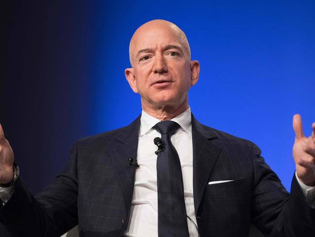 Bezos has managed to hold on to his title as the richest man in the world. Picture: AFP