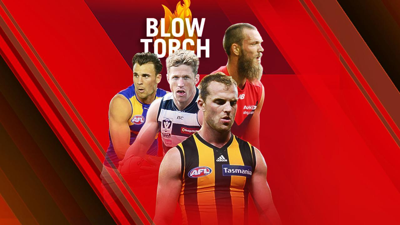 Round 21 Blowtorch. Tom Mitchell needs to be tagged.