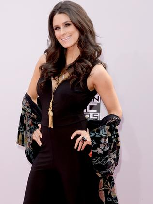His wife, Brittany Furlan. Picture: Jason Merritt/Getty