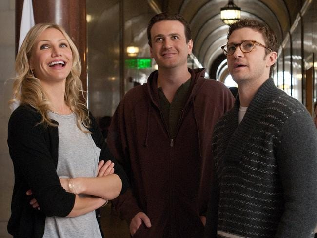 Perfect match ... Diaz and Segel previously starred in  <i>Bad Teacher</i> along with Justin Timberlake.