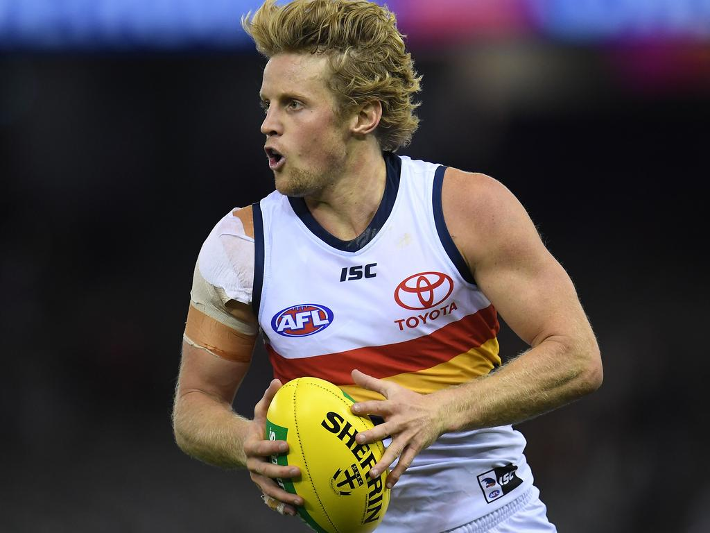 Rory Sloane has signed a massive five-year deal at Adelaide.