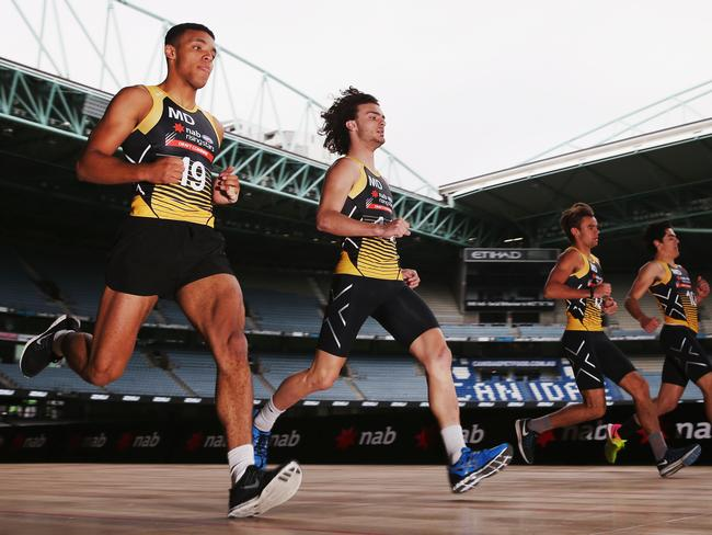 Jack Petruccelle of the Northern Knights was the fastest athlete at the AFL draft combine.