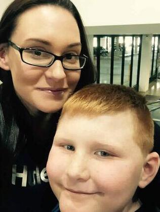 "Ringwood mum Emily Dive took her son Lachlan, who has autism, to Ringwood Coles during ""Quiet Hour"" and said it was a great success. Picture: Supplied"