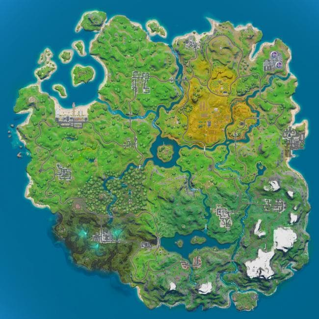 Just when you thought you'd found the perfect spot to hop off the bus, Fortnite has overhauled its map.