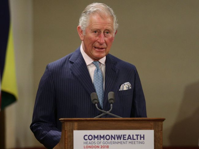 Britain's Prince Charles, Prince of Wales. Photo: AFP / Yui Mok