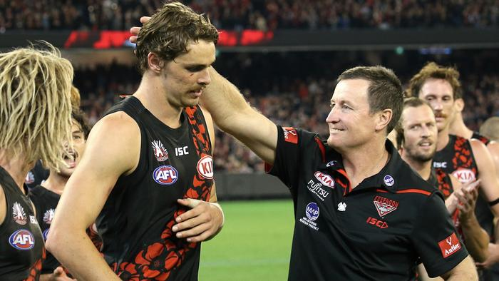 Joe Daniher is 'fully committed' to Essendon's 2020 campaign — and could still be in the leadership group