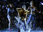 Justin Bieber performs onstage during the 2015 American Music Awards. Picture: Getty