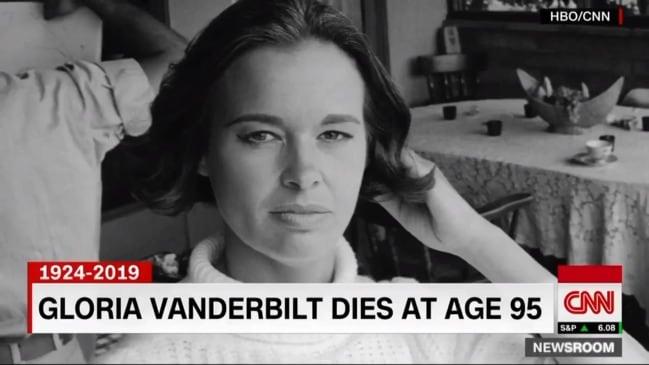 Gloria Vanderbilt has died at the age of 95 (CNN)