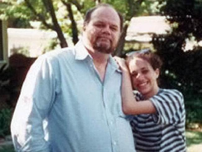 Thomas Markle Sr and a young Meghan. Picture: Thomas Markle: My Story