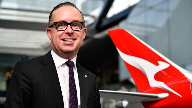 Alan Joyce has even bigger plans for the Flying Kangaroo. Picture: AAP/Joel Carrett