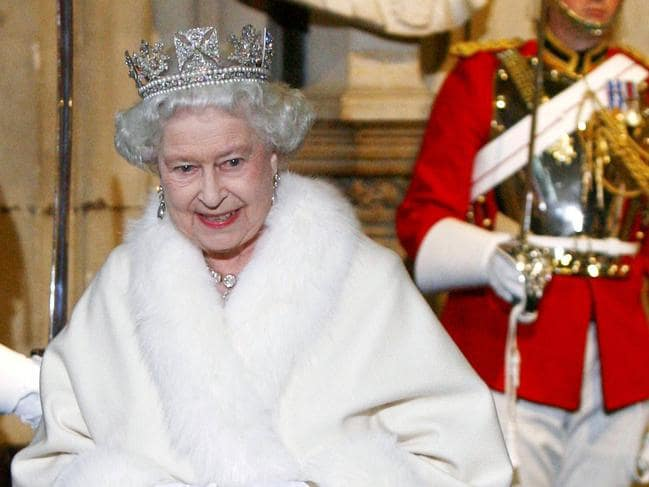 The Queen has worn fur throughout her life. Picture: AP