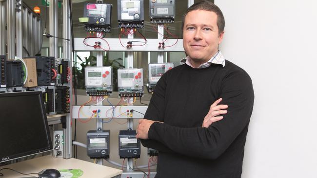 Adrian Clark, CEO of Landis+Gyr.
