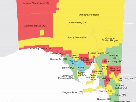 With the exception of the Adelaide CBD and a few small sections of the region, much of South Australia's land is considered disadvantaged in terms of income, employment and education.