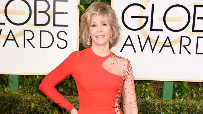Still got it ... Jane Fonda. Picture: Getty Images