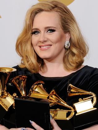 Adele. Picture: Getty Images