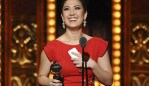 "FILE - In this June 7, 2015 file photo, actress Ruthie Ann Blumenstein, whose stage name is Ruthie Ann Miles, accepts an award for her role in ""The King & I"" at the Tony Awards in New York. A driver who likely had a seizure behind the wheel then drove into a Brooklyn crosswalk, killing the 4-year-old daughter of the Broadway actress and a 1-year-old boy, was charged with manslaughter Thursday, May 3, 2018. Blumenstein, who is pregnant, was hospitalized in intensive care but later said in a statement that she was healing. (Photo by Charles Sykes/Invision/AP, File)"