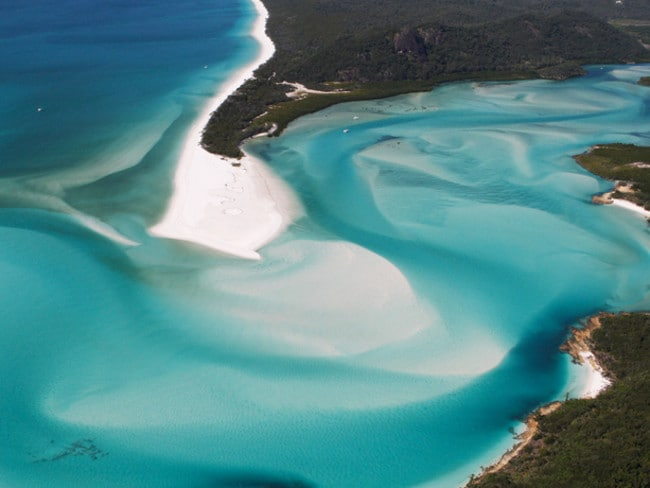 Australia had four beaches to make the list, with two in the top 10. Whitehaven Beach was ranked the world's second best.