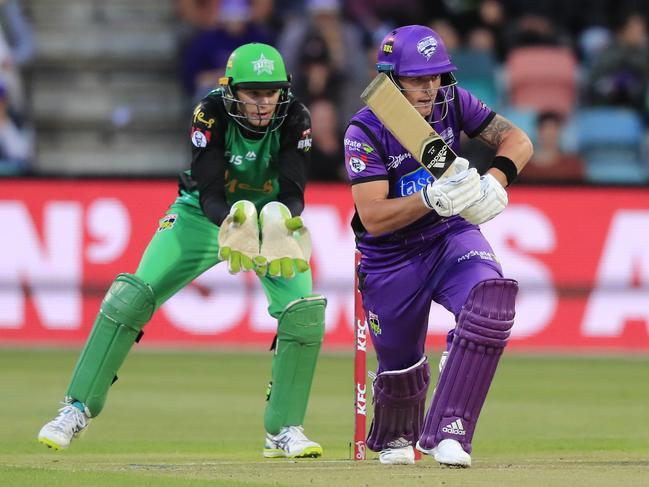 Ben McDermott brought out his best innings when Hobart needed it most.